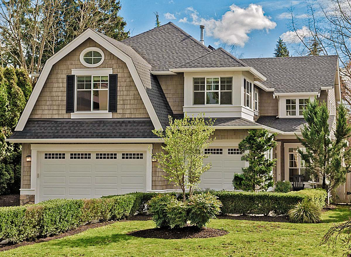 roofing styles, gambrel roof