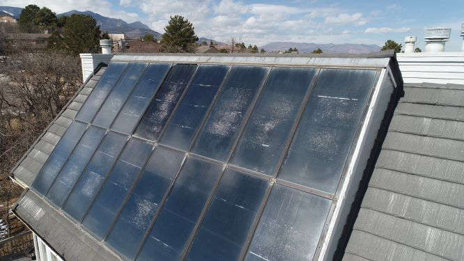 solar panels eco roof sustainable roi material